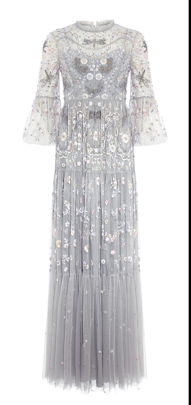 Dragonfly Garden Maxi Dress