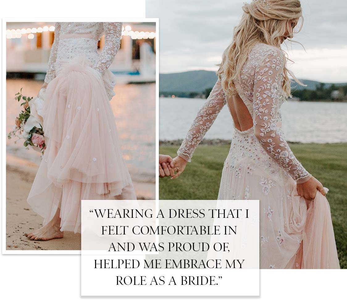 Pearl Rose Bridal Gown