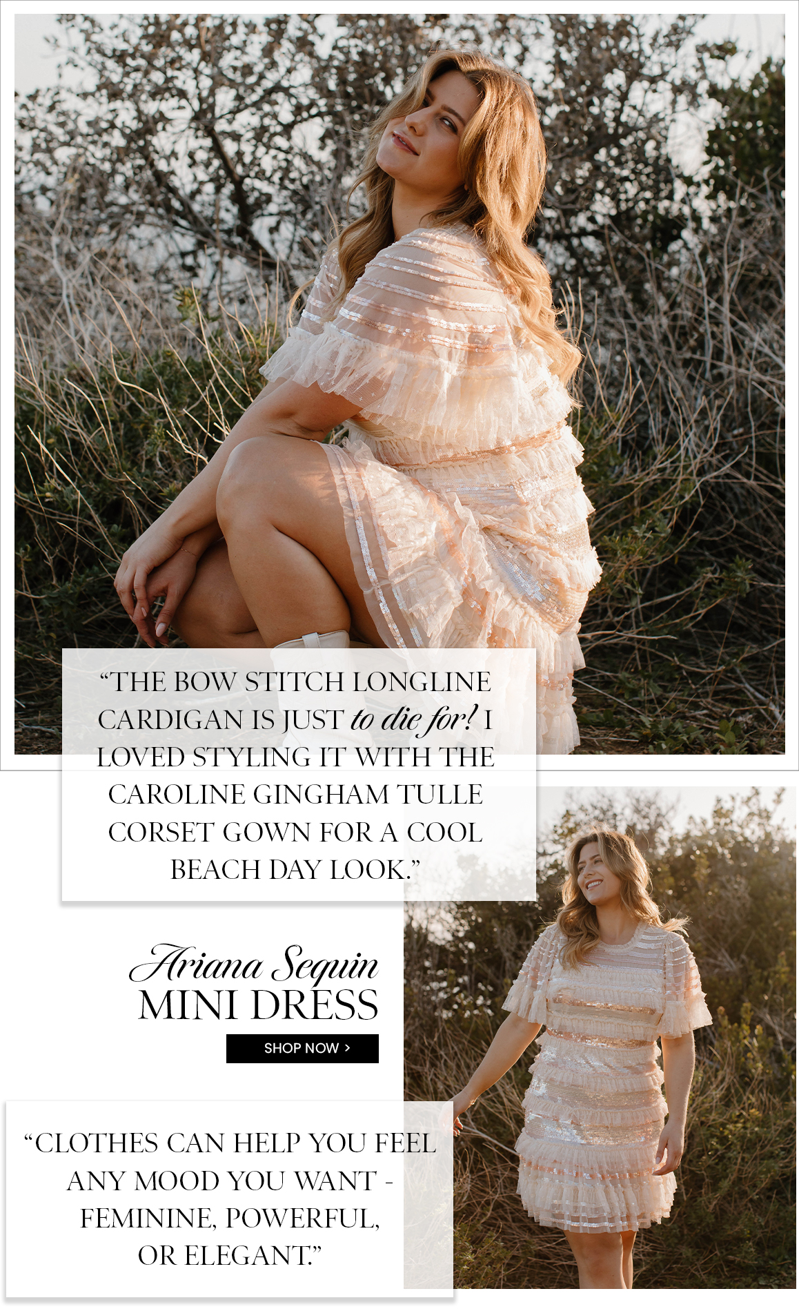 Ariana Mini Dress