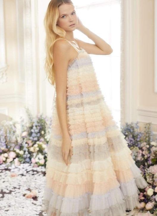 Luella Ruffle Ballerina Sun Dress
