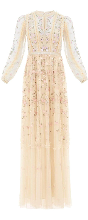Wallflower Gown in Papaya Blush