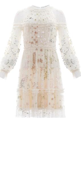 Delphine Sequin Mini Dress