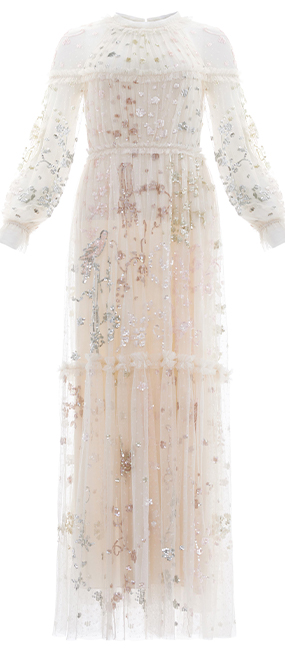 Delphine Sequin Gown