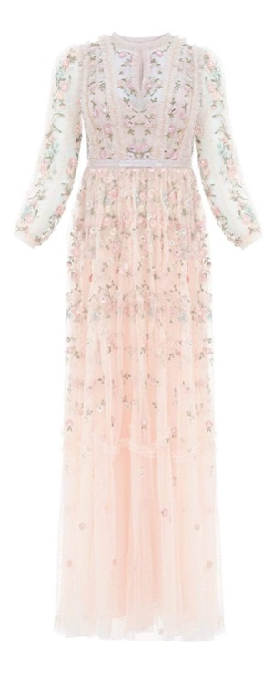 Wallflower Gown in Meadow Pink