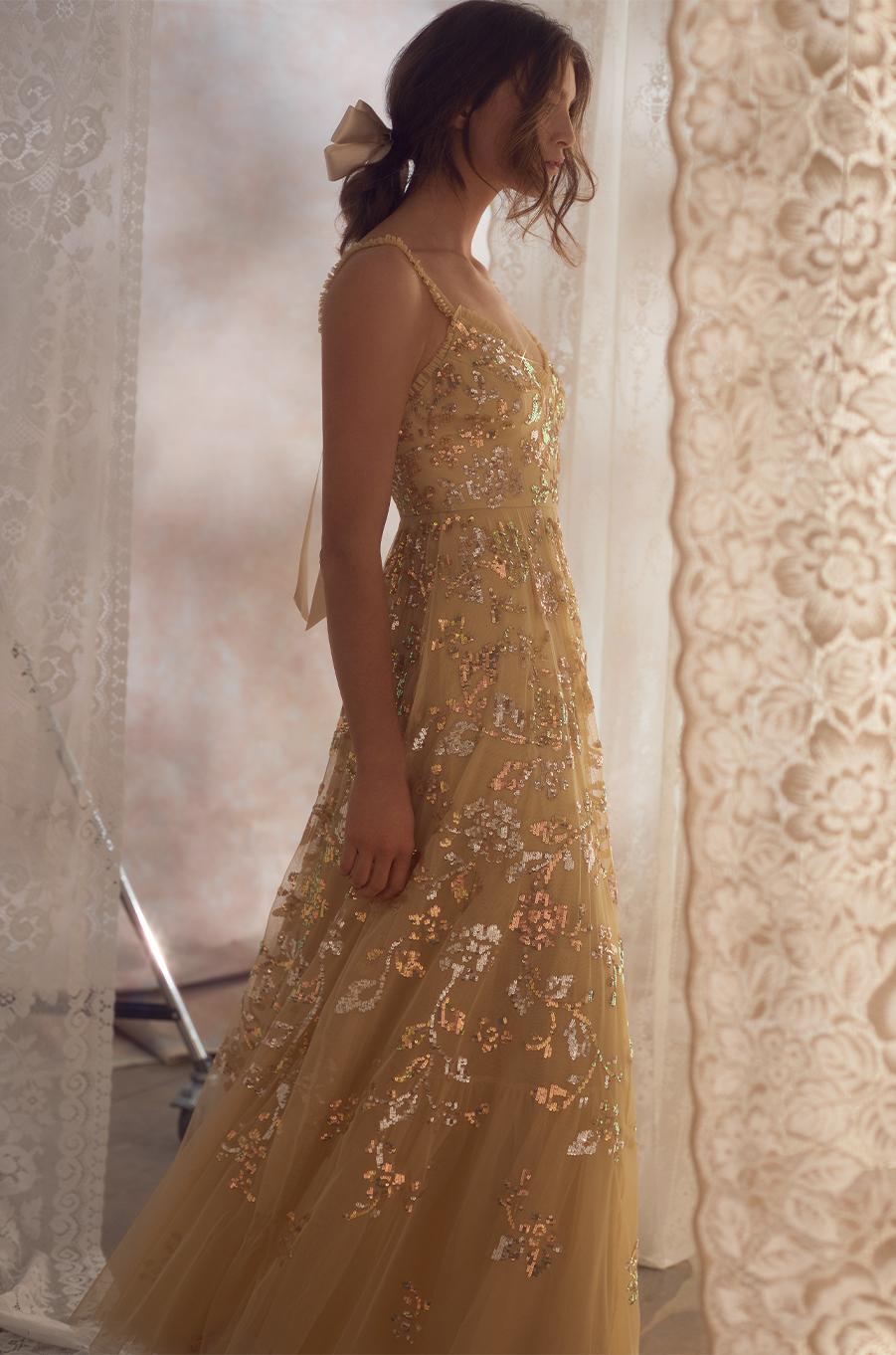 Valentina Sequin Gown