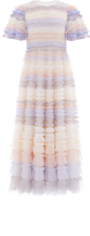 Luella Ruffle Ballerina Dress
