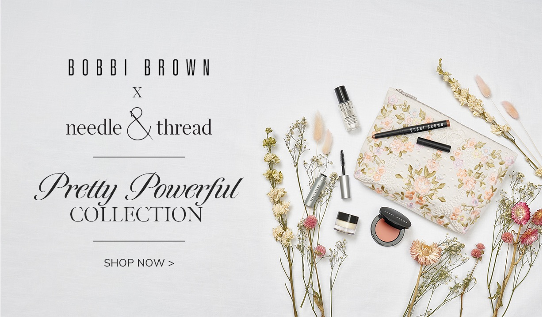 Bobbi Brown x Needle & Thread