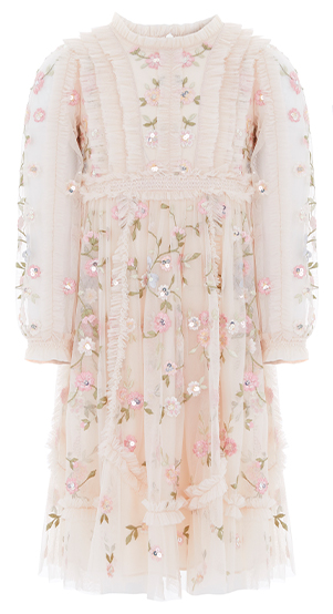 Wallflower KIDS Dress in Meadow Pink