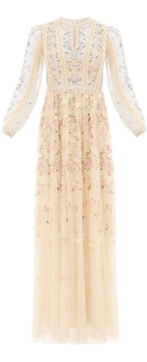 Wallflower Gown in Papaya Blush