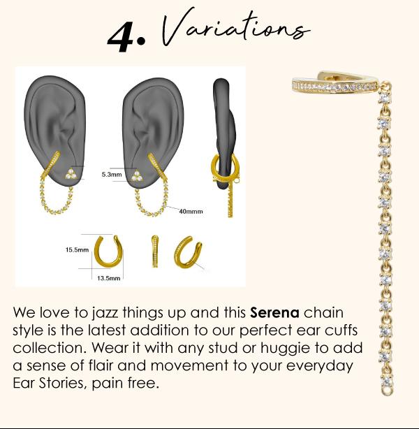 ear cuffs variations