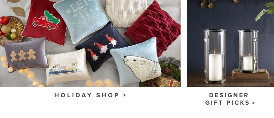 Holiday Shop * Designer Gift Picks
