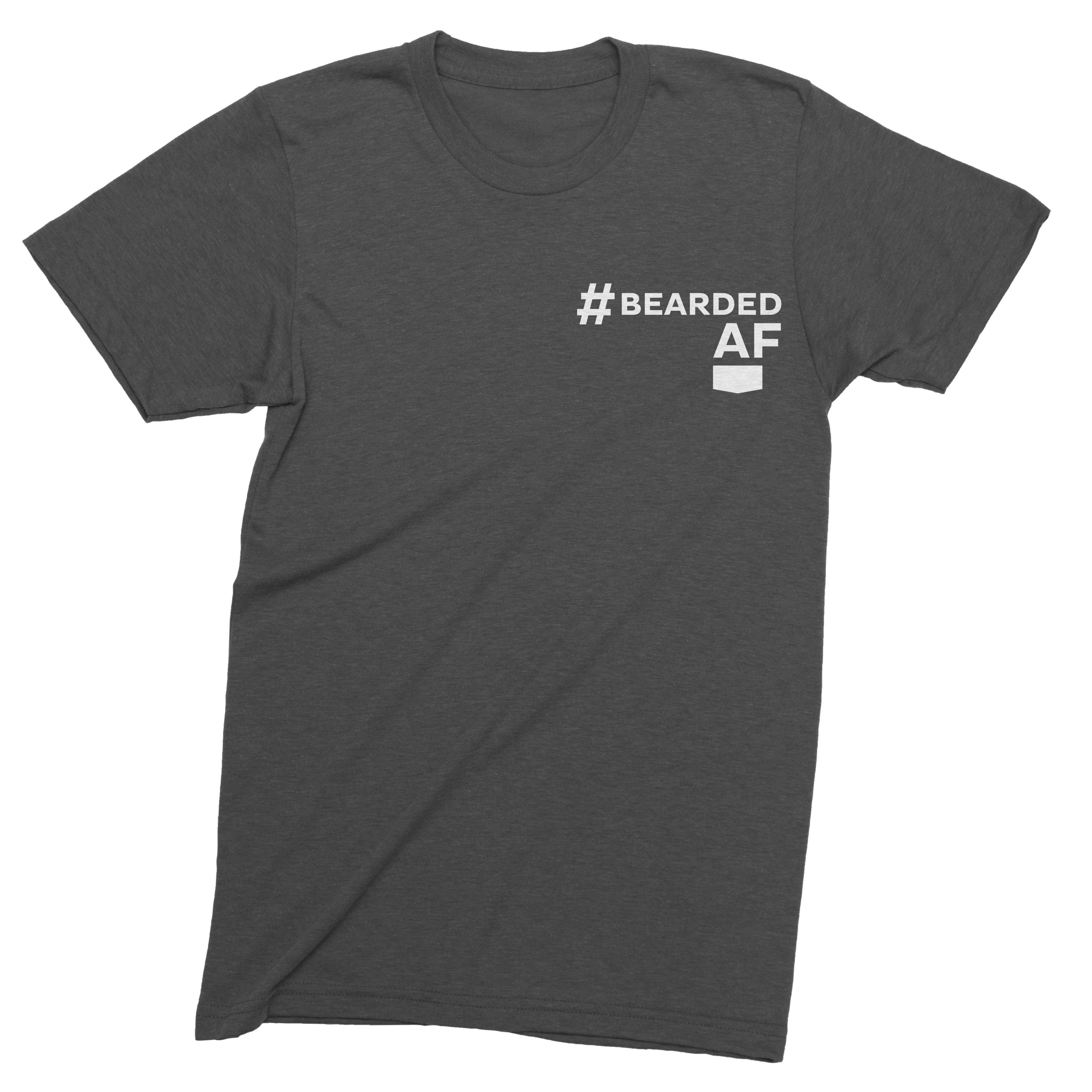 Scotch Porter #BeardedAF T-Shirt