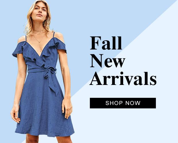 Fall new arrivals