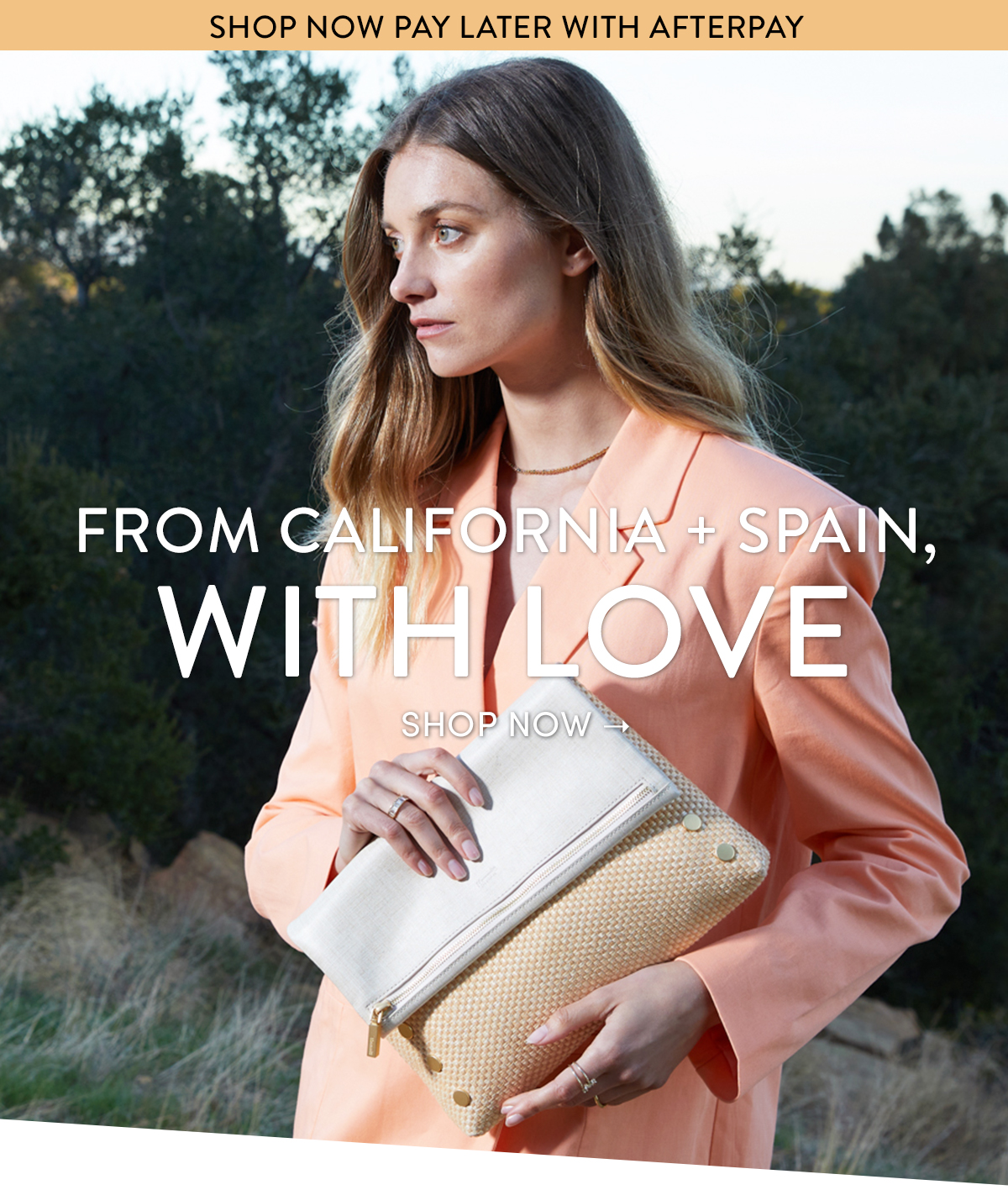 FROM CALIFORNIA + SPAIN, WITH LOVE | SHOP NOW