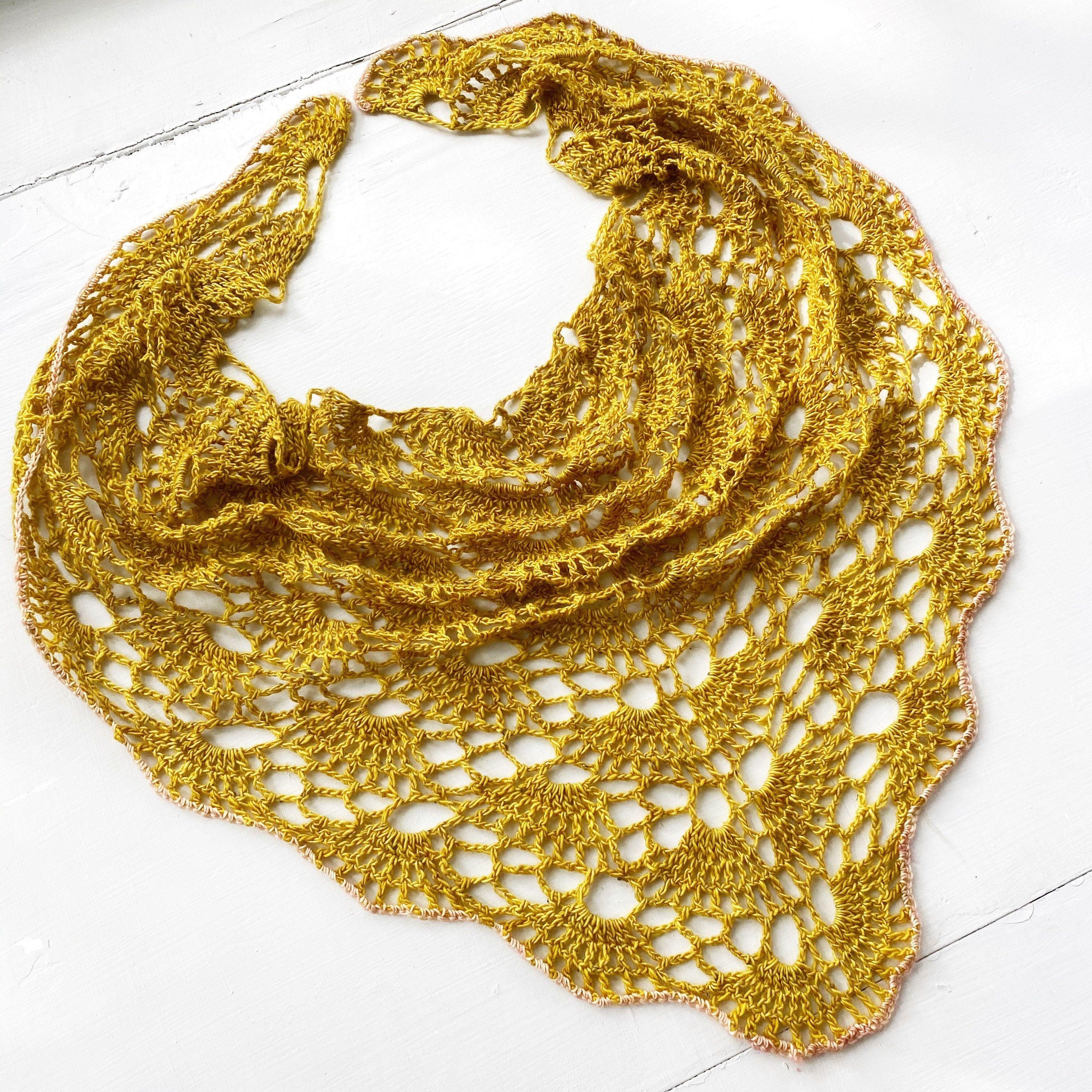 On Point Shawlette Digital Crochet Pattern