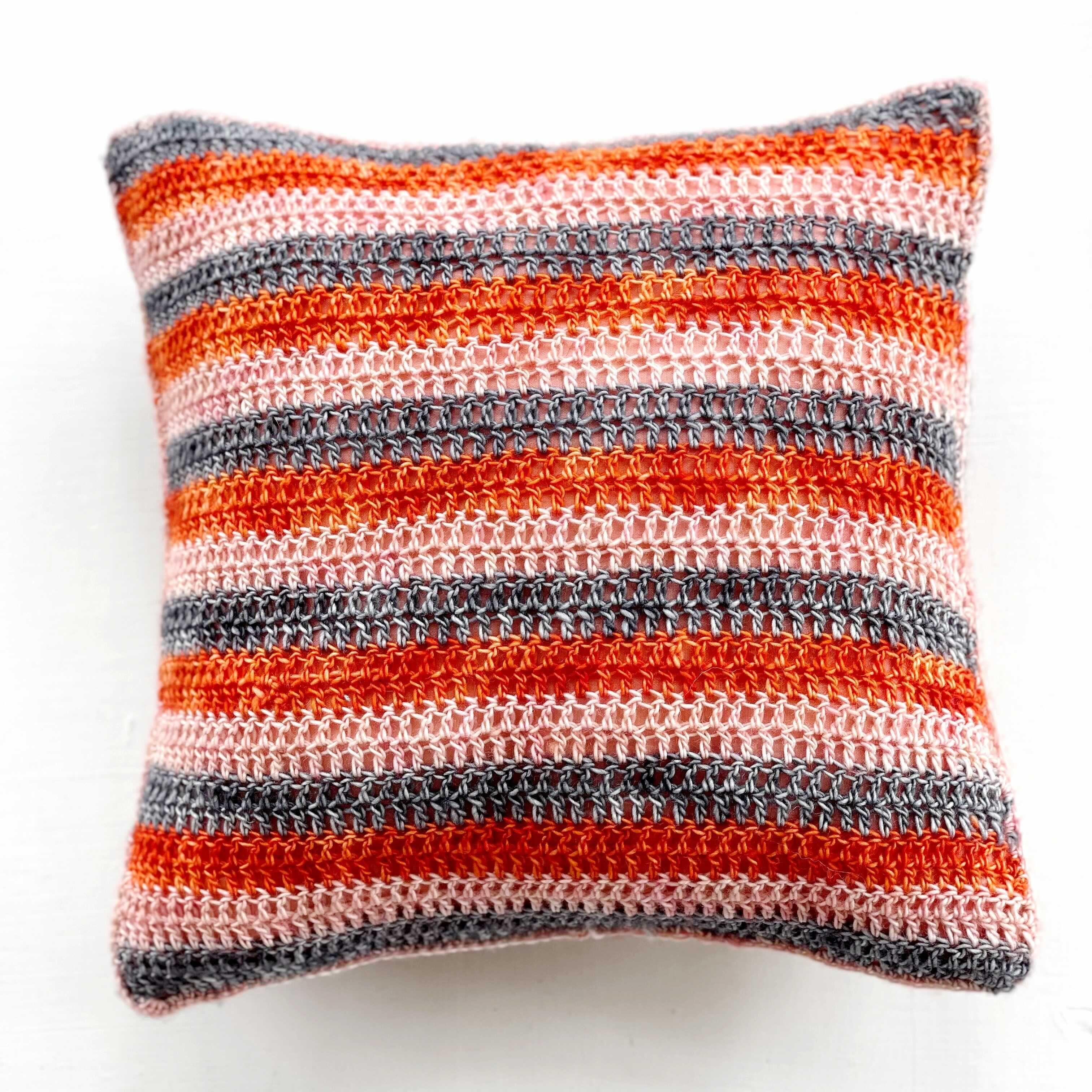 Get the Hip Granny Crochet Pillow Pattern