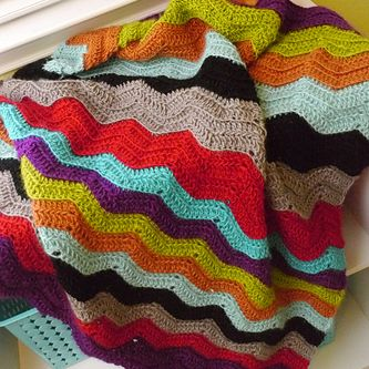 Vickie Howell Chevy Baby Blanket