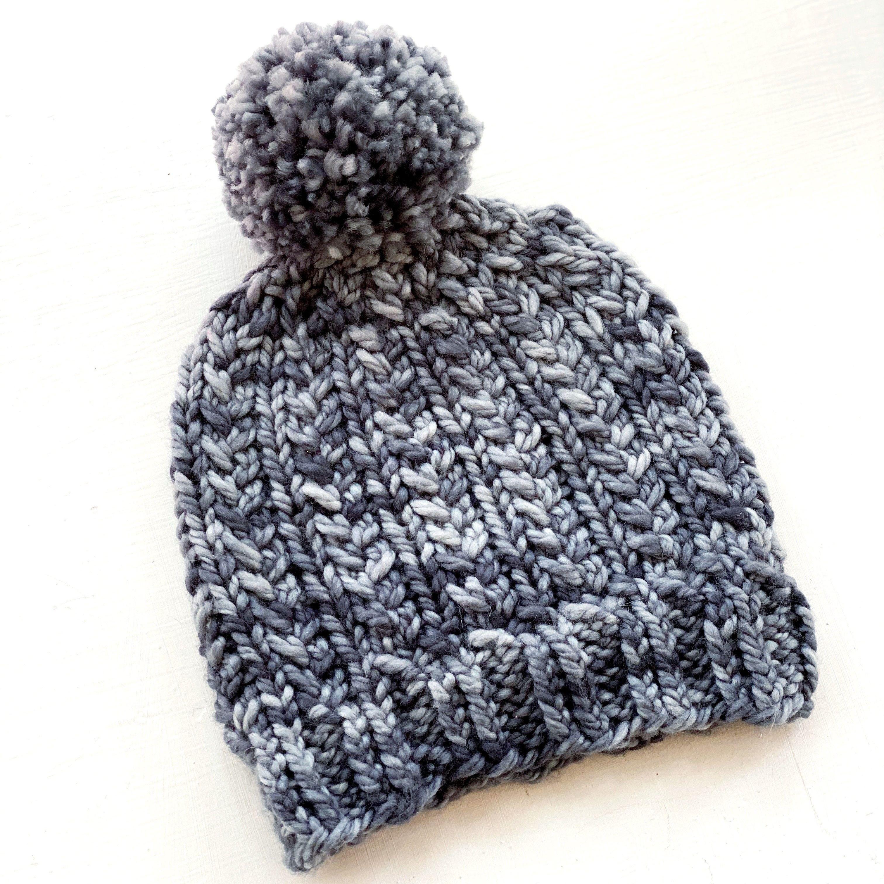 Sloper Beanie Digital Knit Pattern