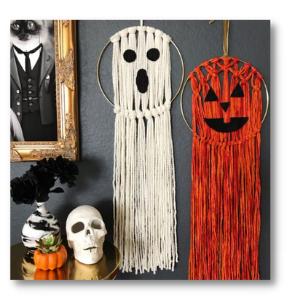 Make Vickie's Macrame Wall Hangings