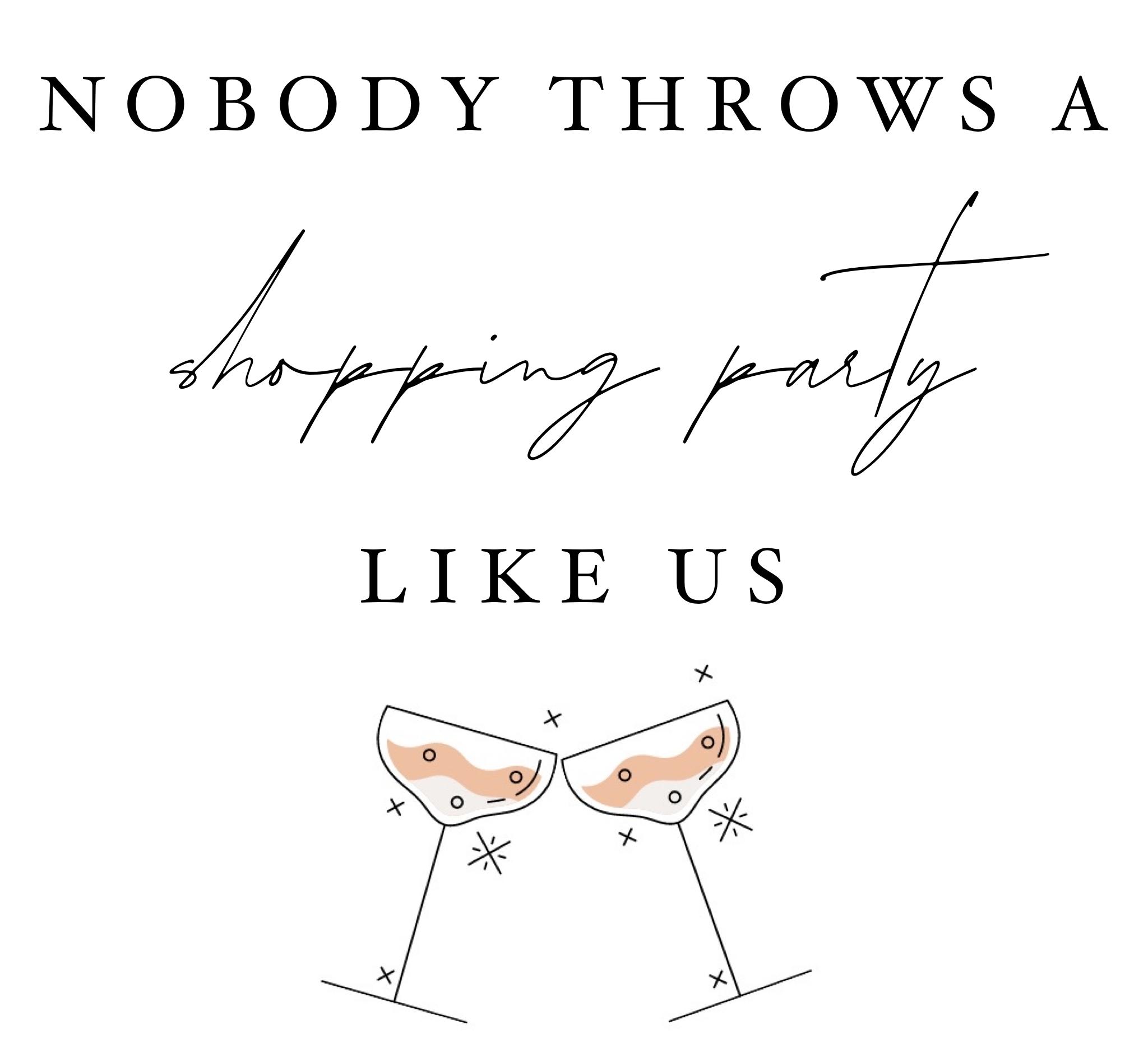 Harper & Tucker Shopping Party