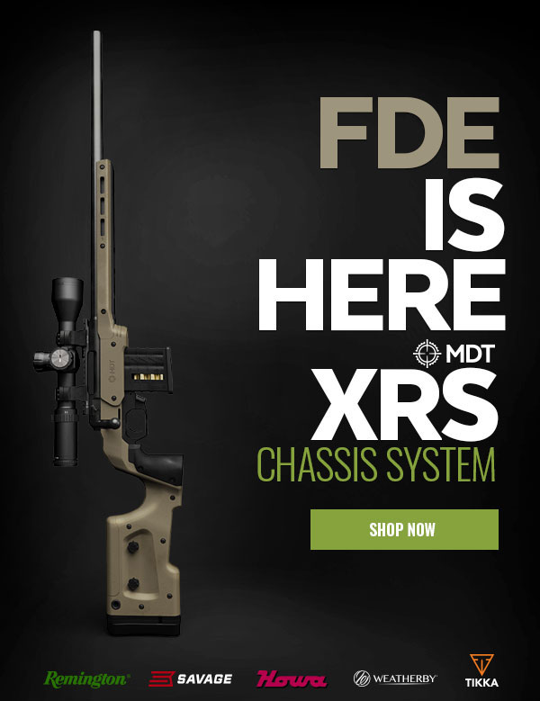MDT XRS Chassis System is now available in FDE
