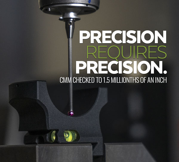 Precision CMM machine shown