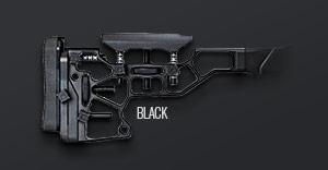 Black buttstock