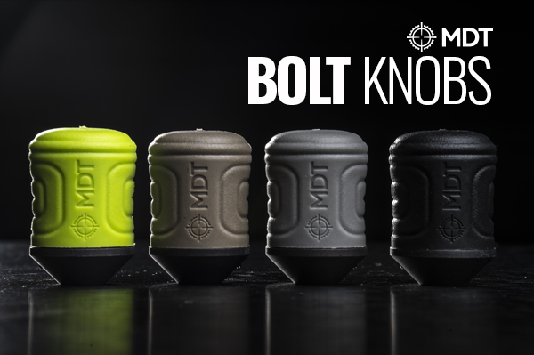 New Release - The MDT Bolt Knobs