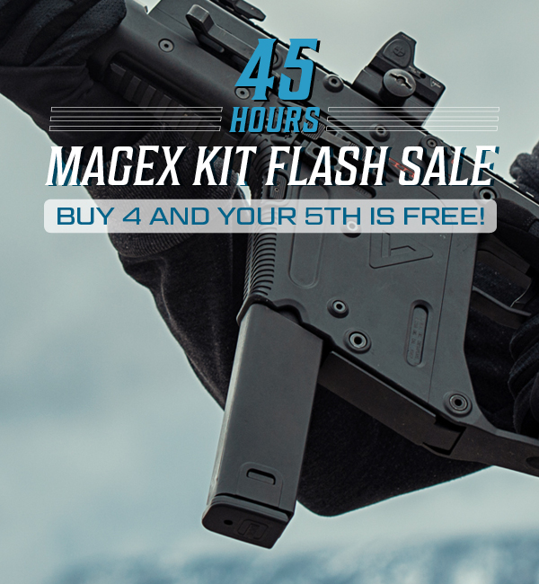 45 Hour Flash Sale - Buy 4 MagEx Kits and 5th is FREE