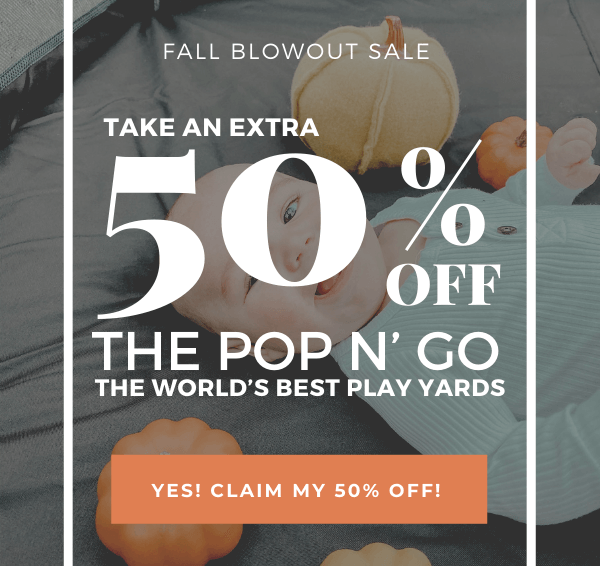 fall blowout sale 50% off image
