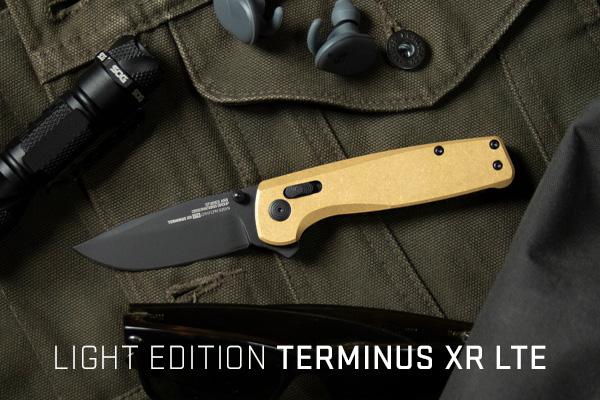 Terminus XR LTE - Brass Handle