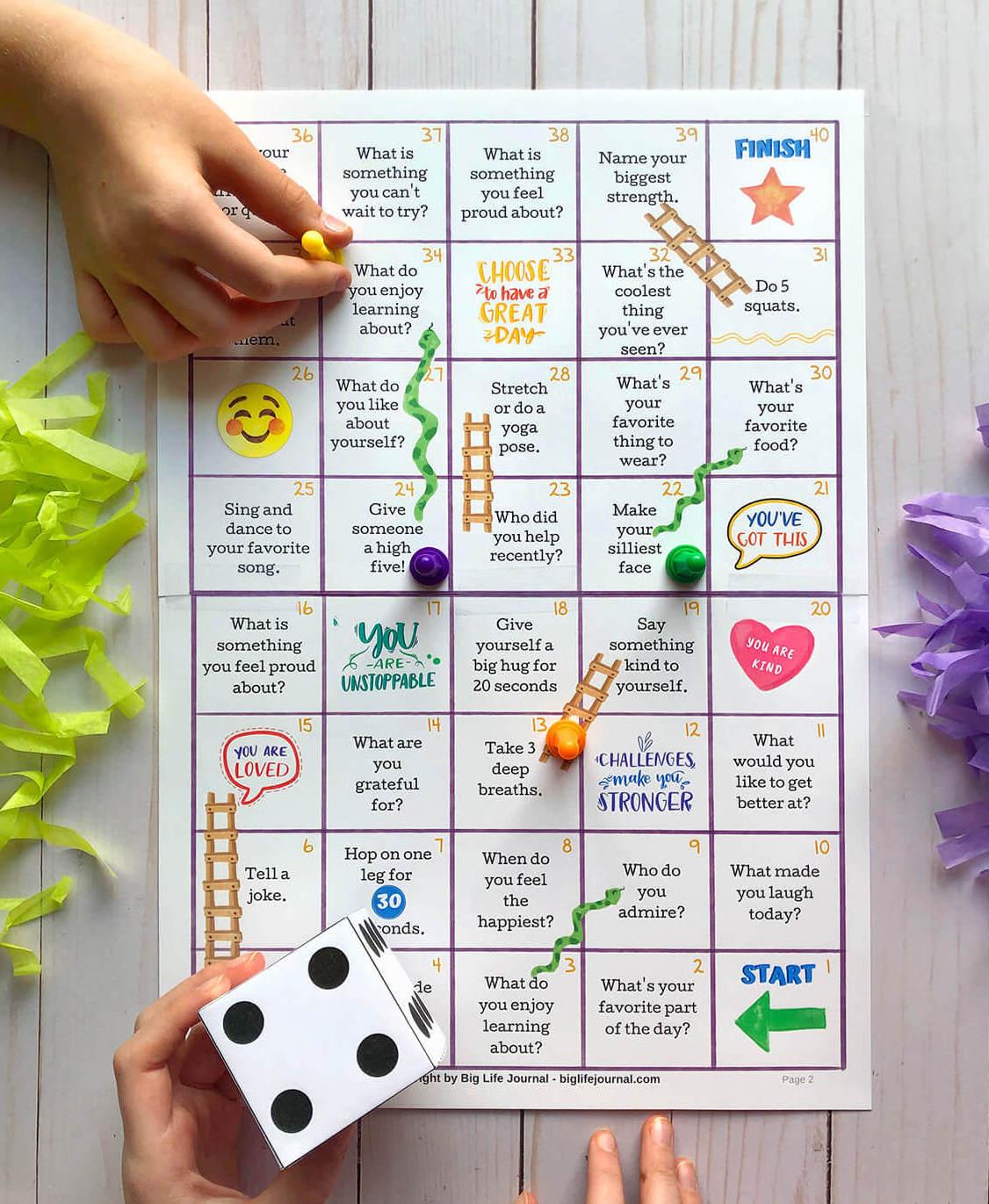 positivity boardgame