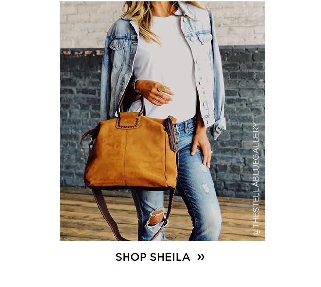 Shop the Sheila in Nubuck Hide Tobacco!