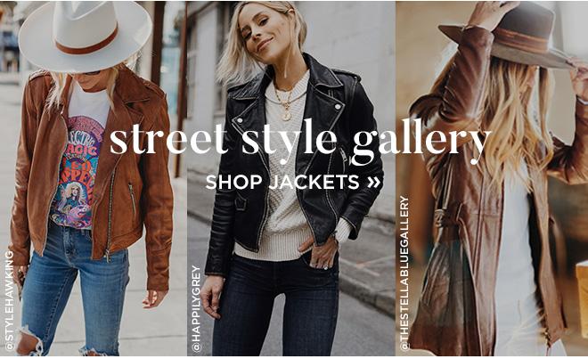 Street Style Gallery // Shop Jackets