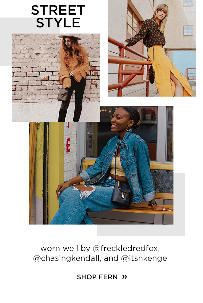 Street Style by @freckledredfox, @chasingkendall, and @itsnkenge