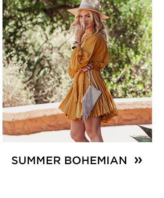 Shop The Summer Bohemian Shop
