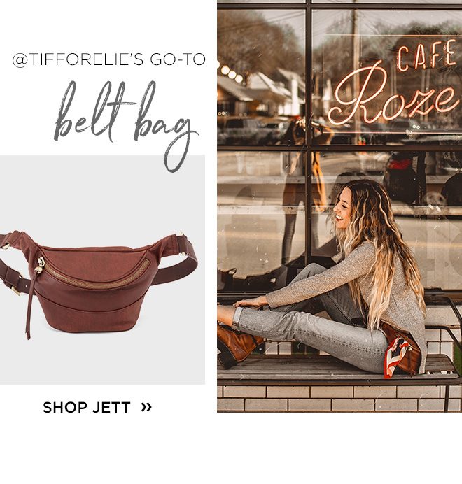 @Tifforelie's go-to belt bag, Shop Jett