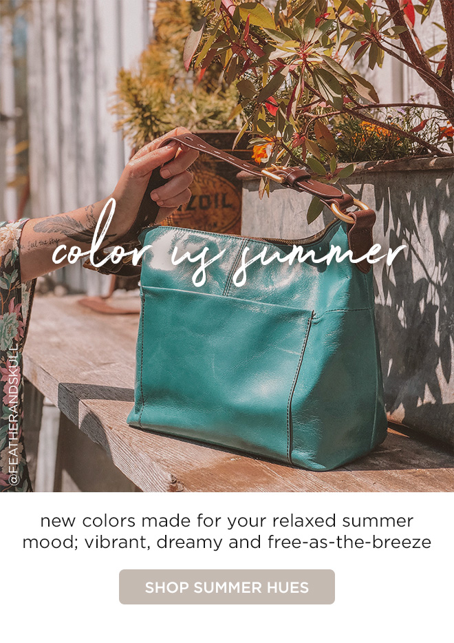 Color Us Summer - new colors made for your relaxed summer mood; vibrant, dreamy and free-as-the-breeze