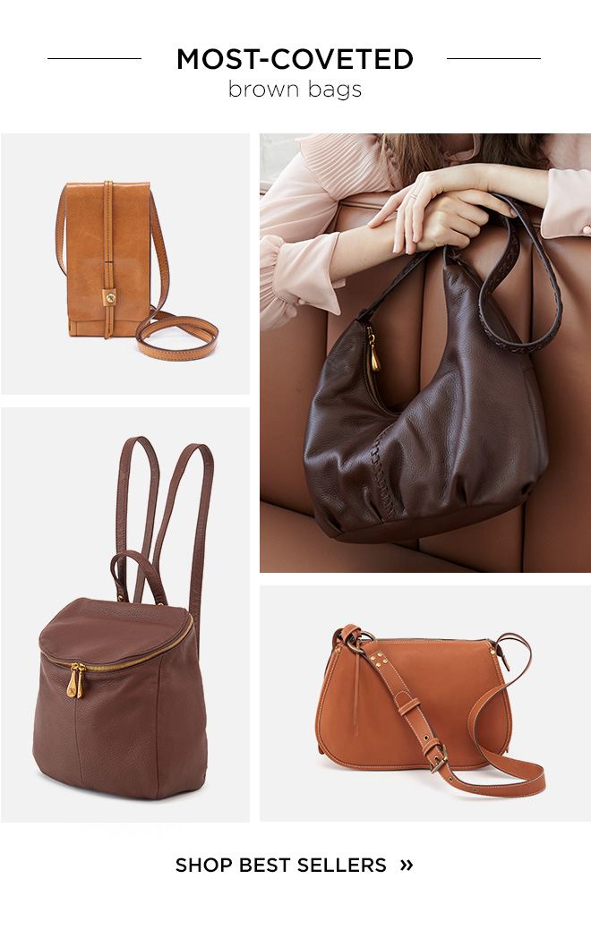 Most Coveted Brown Bags