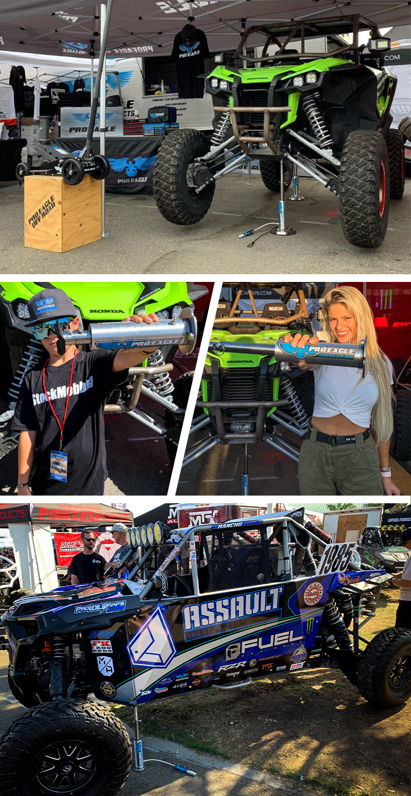 Pro Eagle, Sand Sports Super Show, Dynamic Racing, UTV Jack