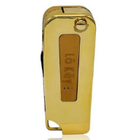 Lo key Fob Vaporizer w/ Built-in Charger 24K Gold (1 Count)