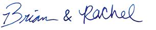 Brian & Rachel Signature