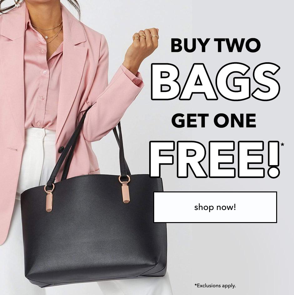 Buy 2 Bags, Get 1 FREE!