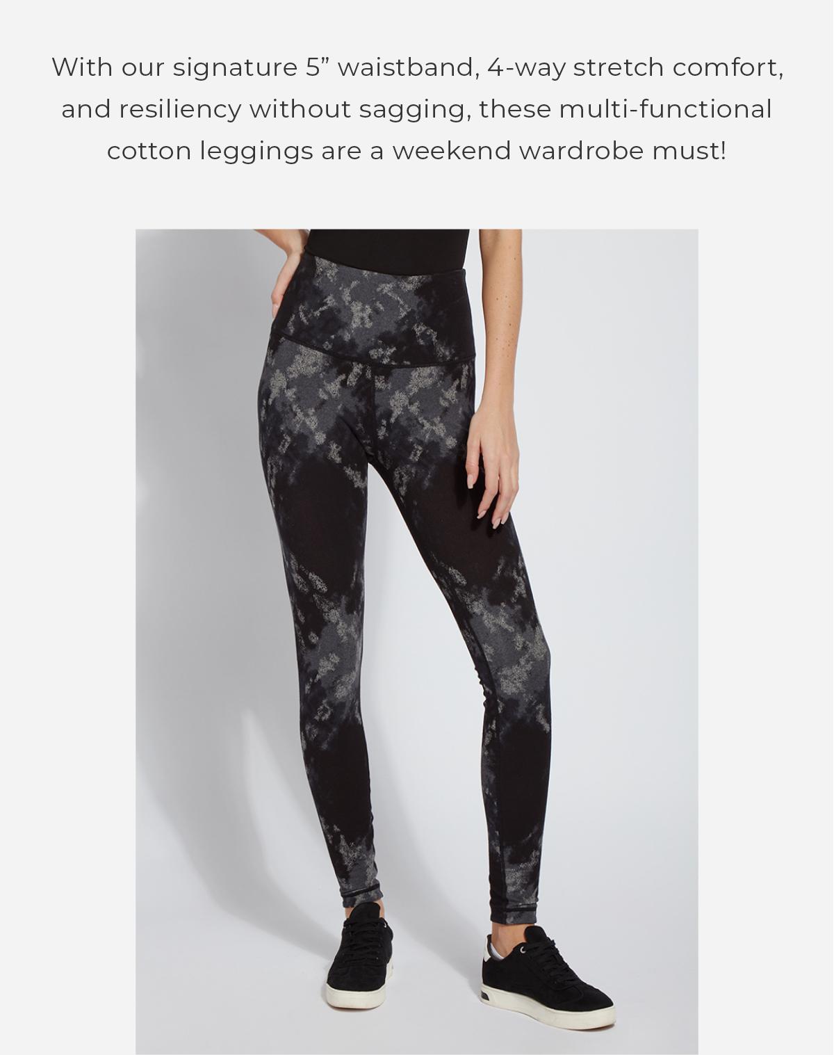 The Reversible Cotton Legging