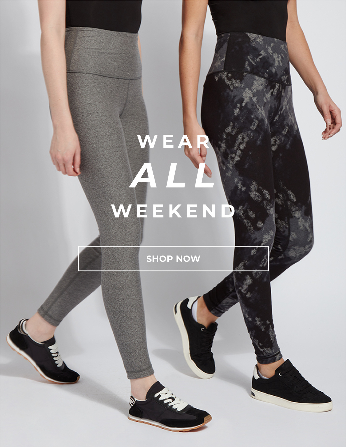 Wear All Weekend - The Reversible Cotton Legging Printed