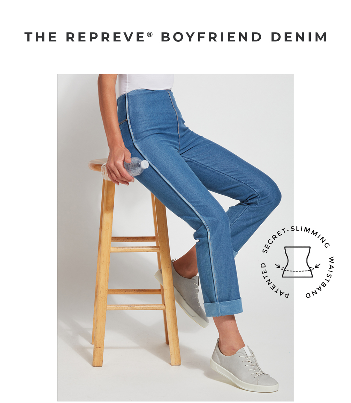 The Repreve Boyfriend Denim