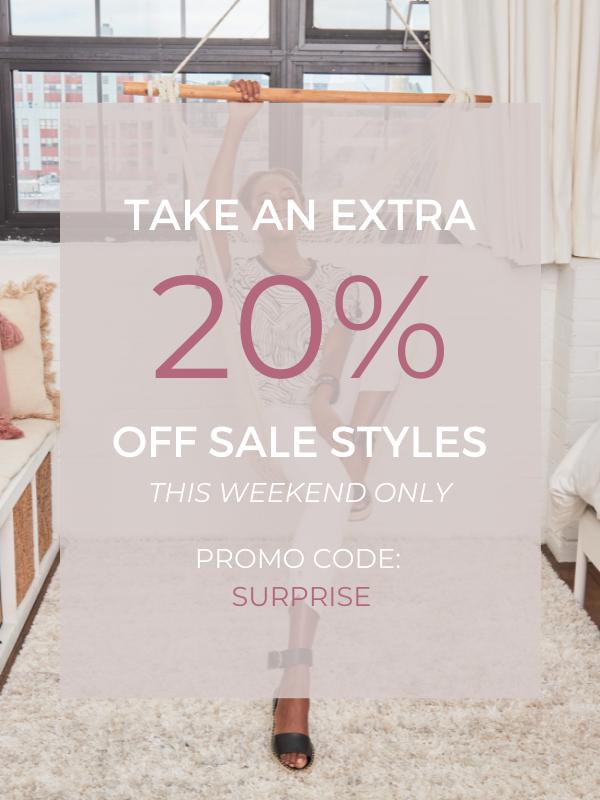 surprise flash sale