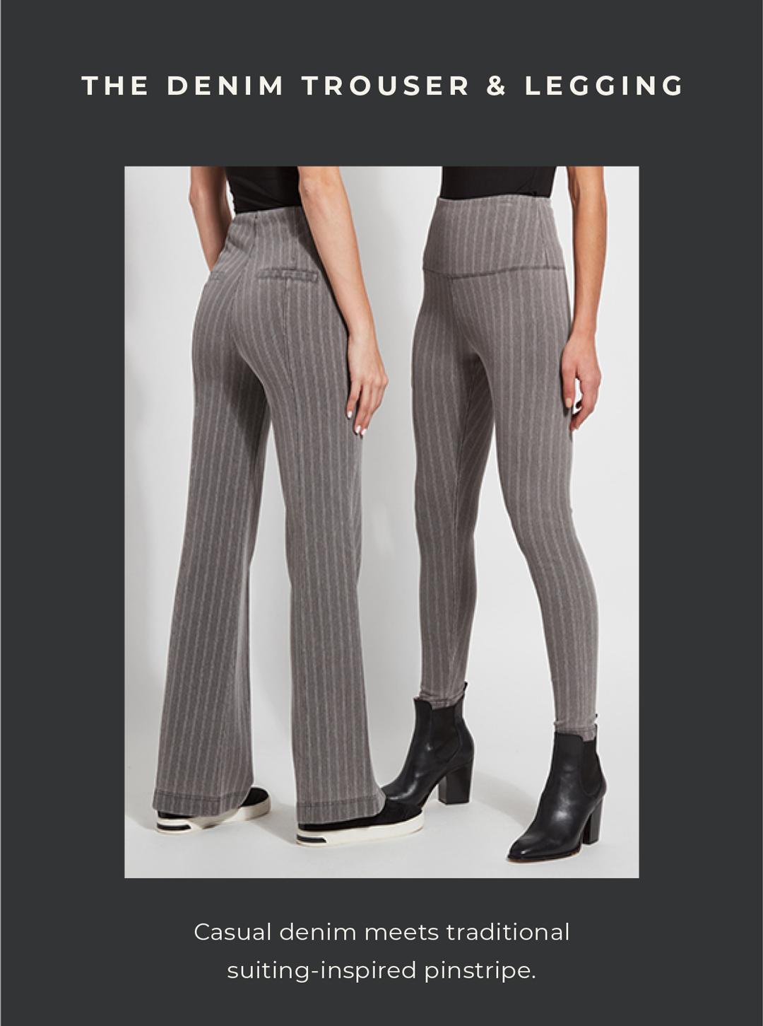 The Denim Trouser and Legging
