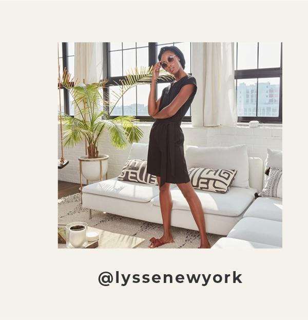 Follow lyssenewyork on Instagram