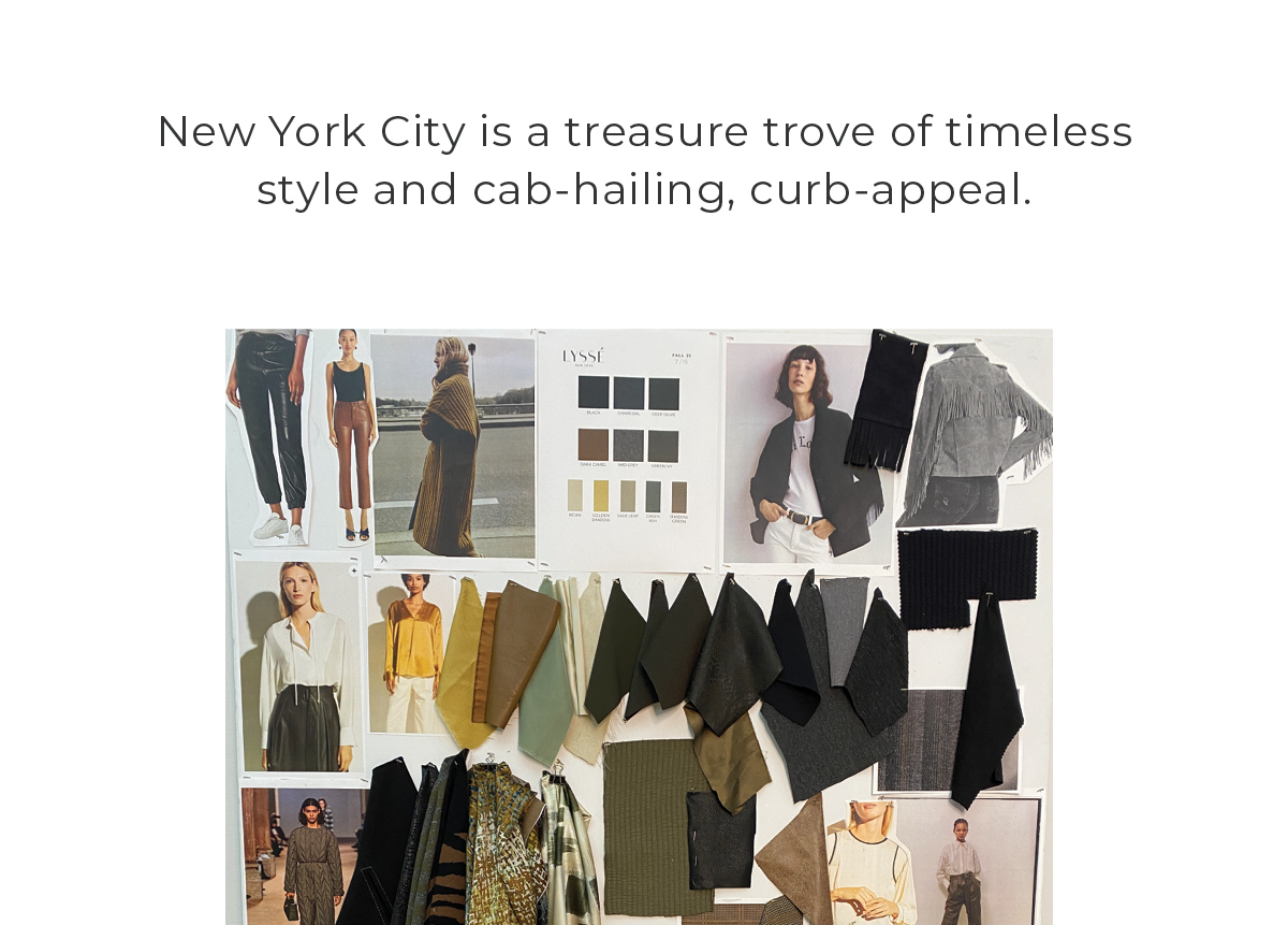 NYC TREASURED ESSENTIALS